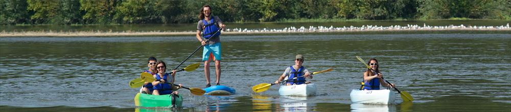 Activites en Kayak sur la Loire