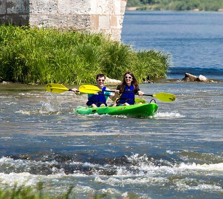 Loire en kayak