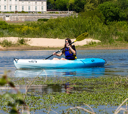 Nos kayaks sit on top - LoireKayak